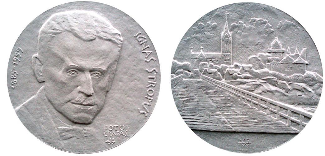Petras Baronas. Medalis Ignui Stropui, 2014