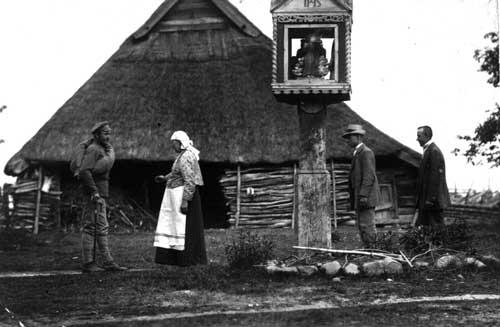 Stropus Kazimieras sugrįžta iš I pasaulinio karo, ~1918 m.